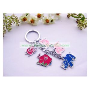 2016 Hot Selling Metal Key Ring Key Charms pictures & photos