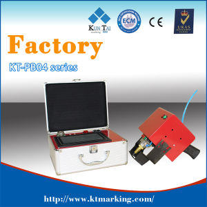 Small Marking Machine, DOT Pin Marking Machine for Metal pictures & photos