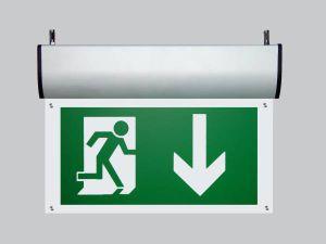 Emergency Escape Route Sign (Fire Exit Box) pictures & photos