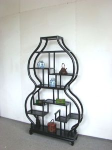 Reproduction Metal Bookshelf (W-332)