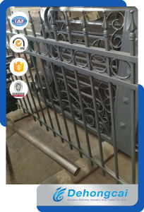 Cheap Ornamental Wrought Iron Fencing / Security Fence pictures & photos
