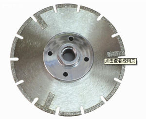 for Stone Cutting Saw Diamond Blade with Flange pictures & photos