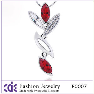 2012 Trendy Cascade Crystal Pendant Necklace P0007