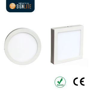 Surface Mounted Installation Square or Round 6W/12W/18W/24W LED Down Light/Panel Light pictures & photos