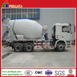 2 Axles 3 Axles Cement Mixer Truck Concrete Mixer Transport Semi Trailer Truck pictures & photos