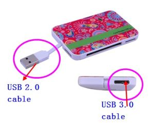USB 2.0 and 3.0 Card Reader pictures & photos