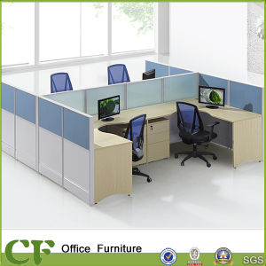 Executive Office Furniture 4 People Office Desk Best Workstation Laptop pictures & photos