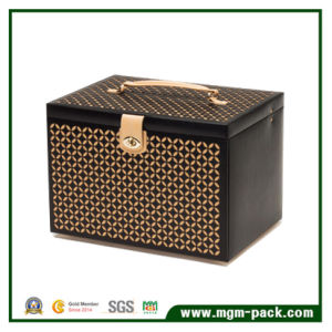 Square Custom PU Leather Jewelry Box for Storage pictures & photos