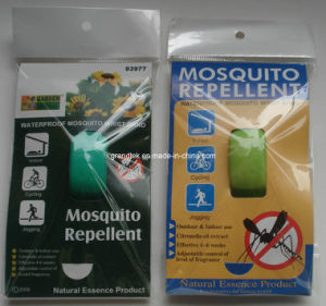 Effective Natural Silicon Mosquito Repellent Bracelet pictures & photos