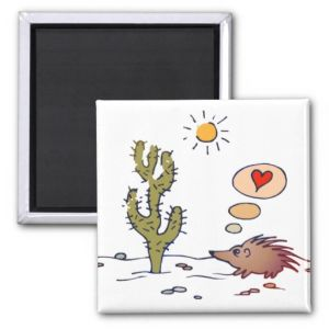 Porcupine Love Fridge Magnet pictures & photos