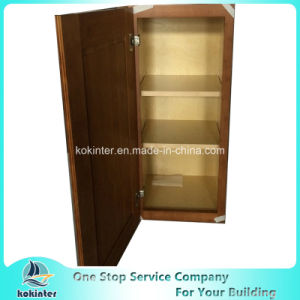 American Style Kitchen Cabinet Bamboo Shakerr W2130 pictures & photos