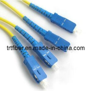 SC/UPC-SC/UPC SM DX Fiber Patch Cord (SC Fiber jumper) pictures & photos