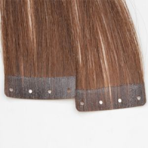 Europen Virgin Remy Holed Tape Human Hair Extension pictures & photos