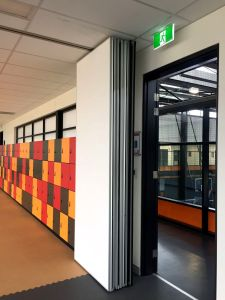 Acoustic Movable Partition Wall for Training Center/Fitness Center pictures & photos