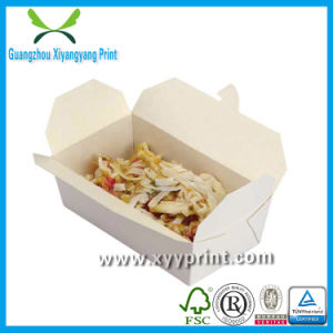 Custom High Qualiy Printed Cosmetic Paper Lunch Box Wholesale pictures & photos