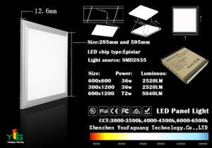 2014 600X600, 40W Suspended LED Panel