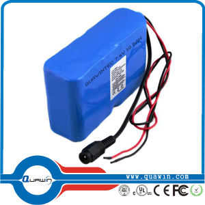3.7V 6600mAh 1s3p Li-ion Battery Pack pictures & photos