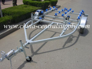 Factory Made Heavy Duty 4.6m Double Jet Ski Trailer (CT0064S) pictures & photos