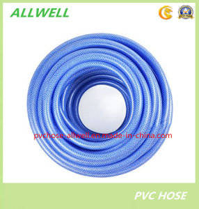Plastic PVC Flexible Fiber Braided Reinforced Water Irrigation Pipe Hose Garden Hose pictures & photos