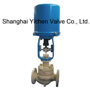 Electric Fluorine Lined Single Seat Control Valve with Bellows pictures & photos