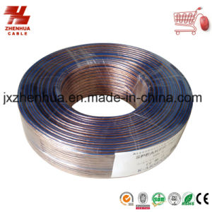 16AWG Blue Line Transparent Speaker Cable From Haiyan Speaker Cable pictures & photos