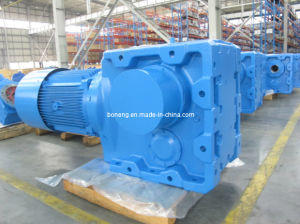 K Series Helical-Spiral Bevel Gear Box, Geared Motor pictures & photos