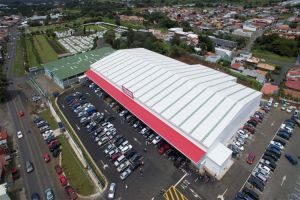 Prefabricated Steel Structure Supermarket Store pictures & photos
