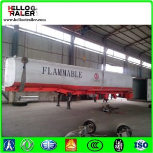 China Tri Axle 42000L Oil Tank Trailer for Sale pictures & photos