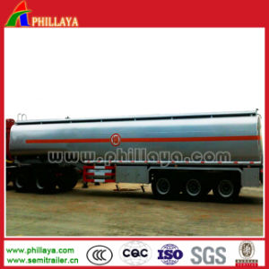 Three Axles German Suspension Oil Tank Truck pictures & photos