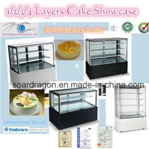 Refrigerated Cake Display Showcase (ZSF series) pictures & photos
