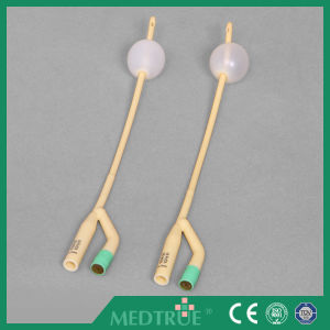 CE/ISO Approved 2-Way Female Latex Foley Catheter (MT58014041) pictures & photos