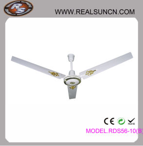 56inch Ceiling Fan with Golden Decoration Model No. Rsd5610b pictures & photos