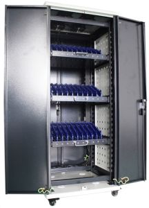 Tablet Charging Cabinet with Drawing for Laptops and iPad pictures & photos