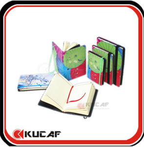 Wholesale Personalized Fabric Cover Notebook KCN-0002 pictures & photos