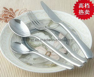 Hight Steel Four Pieces Cutlery Sets (GHBB) pictures & photos