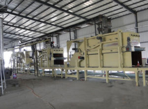 MDF Wood Flooring Production Line for Construction Company Usage From Used Woods pictures & photos