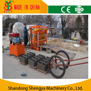 Small Hydraulic Concrete Block Making Machine for Hollow Blocks, Solid Bricks and Paver Bricks pictures & photos