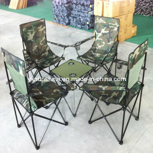 Folding Camping Table Set (XY-123B) pictures & photos