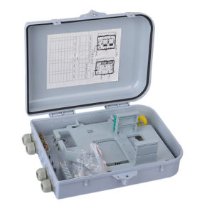 16 Core FTTH Outdoor Fiber Optical Terminal Box/Splitter Box/Distribution Box pictures & photos