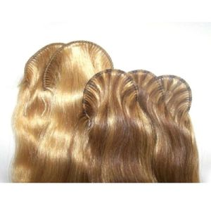 Top Quality Hand Tied Human Hair Weft pictures & photos
