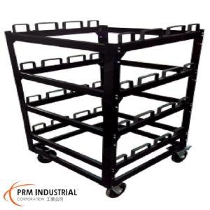 Stcart12 Retractable Belt Barrier Storage Cart pictures & photos
