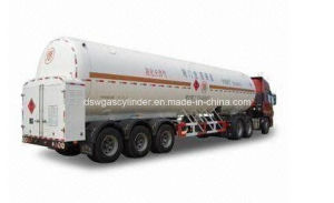 Oxygen Nitrogen Argon Cabochon Dioxide Cryogenic Tank Truck pictures & photos