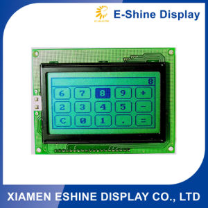 12864 Character/Graphic FSTN DOT Matrix LCD Module with Green Backlight pictures & photos