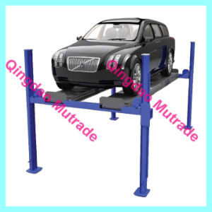 2 Automobile Car Vehicle 4 Post Car Lift in USA pictures & photos
