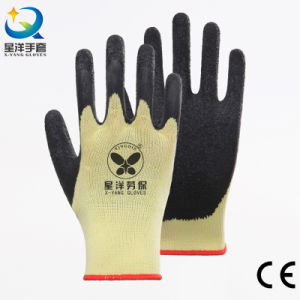 Latex Palm Coated Thumb Fully Coated Safety Glove pictures & photos