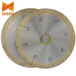Continuous Rim Diamond Disc for Tile Cutting pictures & photos