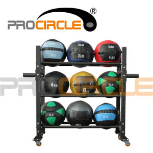 Fitness Top Selling PU Leather Wall Ball (PC-MB1110) pictures & photos