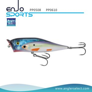 Fishing Tackle Popper Top Water Fishing Lure with Vmc Treble Hooks (PP0508) pictures & photos