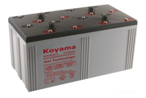 Superior Quality 2V Stationary Gel Battery -2V3000ah for Wind Power System pictures & photos