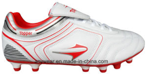Men′s Soccer Football Boots with TPU Outsole Outdoor Footwear (815-5412) pictures & photos